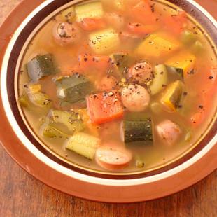 たっぷり野菜スープ
