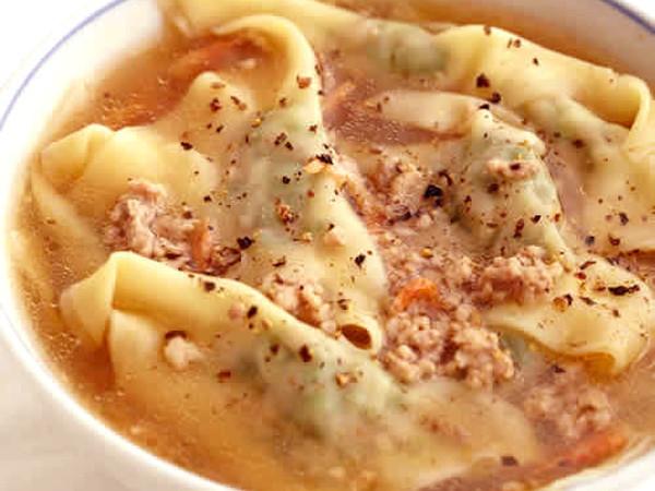 ニラワンタンスープ