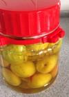 南高梅の甘酸っぱい蜂蜜シロップ