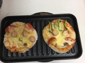 夏休み、子どものランチに!ごはんピザ