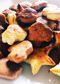 魚焼きグリルで超時短クッキー☆