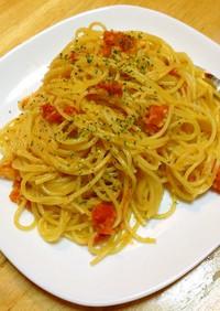 冷凍ミニトマトで作る!トマトソースパスタ