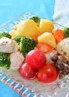 """鶏塩スープで """"夏・肉じゃが"""""""