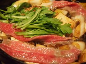 飛騨牛トモサンカクの大人すき焼き