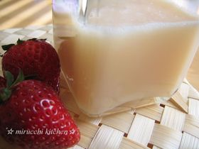 レンジで簡単❤ 牛乳で作る☆ミルクジャム