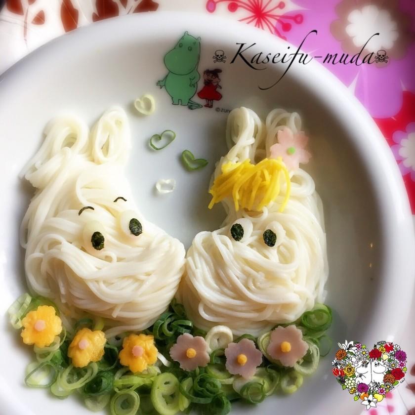 ムーミン&フローレン♘キャラ麺