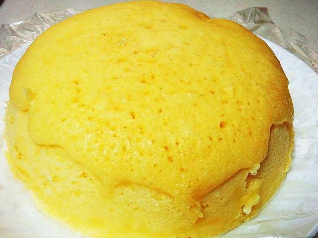 卵蒸しパン ホットケーキミックス