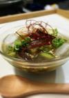 氷と一緒に食べる★きゅうりと茄子水キムチ