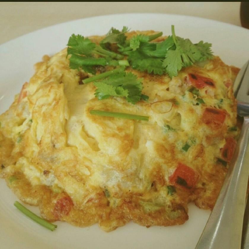 本格タイ料理 たまご焼き!世界一うまい