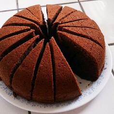 炊飯器チョコケーキ