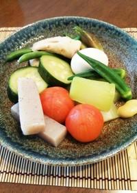夏野菜!ひんやり★冷やしおでん♪