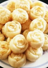 豆腐でもちもちミニケーキ
