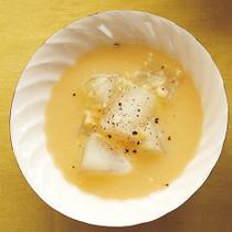 とうがんのとうもろこしスープ