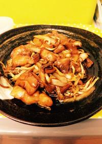 鶏もも肉と野菜のソテー