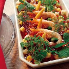 魚介の贅沢サラダ
