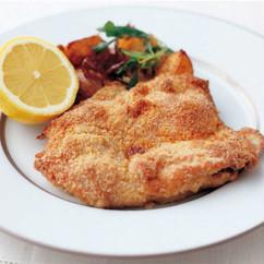 鶏肉のパン粉焼き