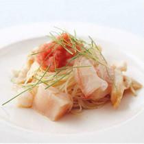 魚介の冷製カペッリーニ