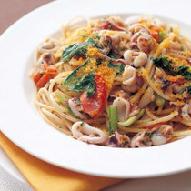 いかとからすみのスパゲッティーニ