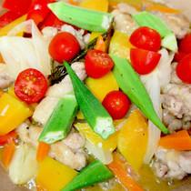 マリネ液が残らない!鶏肉と野菜のごちそうマリネ
