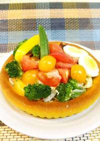 旬の野菜で夏バテ解消!「サラダブレッド」