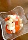 トマトとタマネギのマリネ風サラダ