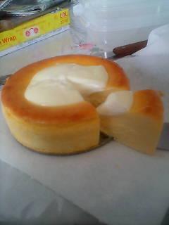 *半熟チーズケーキ*