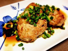 パン粉なし!簡単ヘルシー豆腐ハンバーグ♡