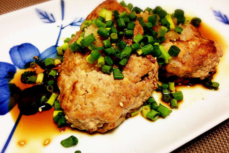 豆腐 ハンバーグ パン粉 なし