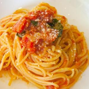 パスタの基本、スパゲッティーニトマトソース
