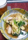 鶏の親子煮