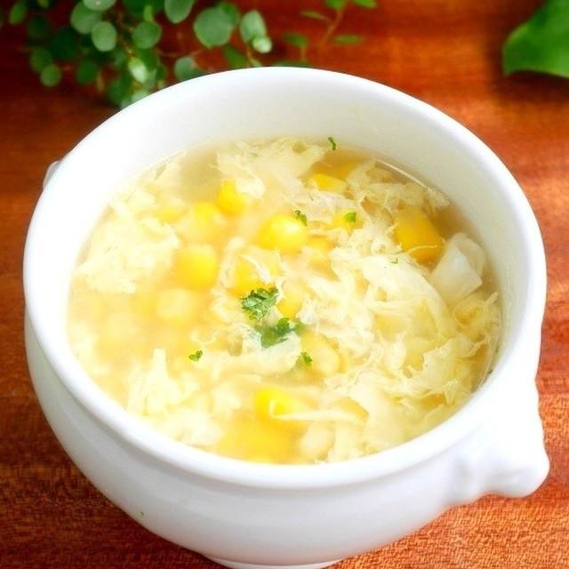 卵 中華 スープ