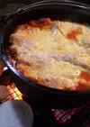ダッチオーブンで簡単ラザニア