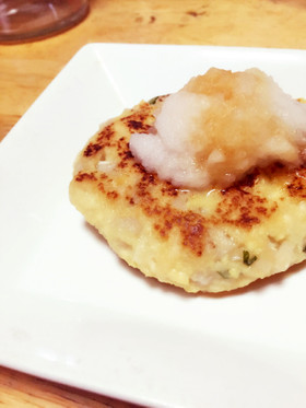 サラダチキンアレンジ♪豆腐ハンバーグ♪