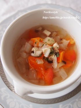 身体を綺麗にする野菜スープ