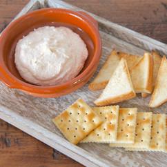 クリームチーズと明太子のディップ