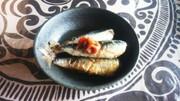 圧力鍋で☆小イワシの梅煮の写真
