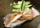 魚焼きレンジで簡単に鯛の塩焼き