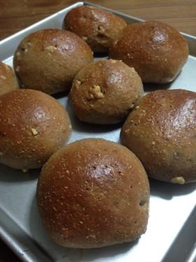 低糖質大豆粉とふすま粉のくるみチーズパン