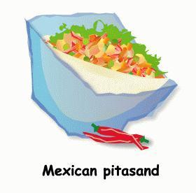 簡単チリコンカンのメキシカンサンド★サンドイッチ弁当⑧