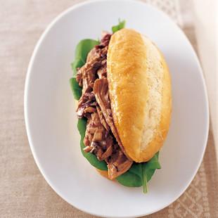 バルサミコチキンサラダ サンドイッチ