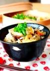里芋ときのこの炊き込みご飯*炊飯器&鍋♪