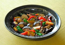 【食育】野菜と青魚の南蛮漬け