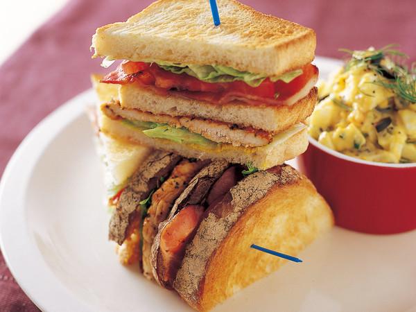チキンクラブサンドイッチ