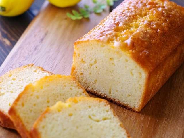 レモンパウンドケーキ ホットケーキミックス