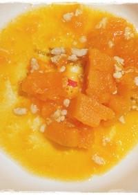 離乳食後期 鶏ミンチとかぼちゃの煮物