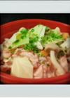 ■簡単レンジ■豚肉キャベツ重ね蒸し減量昼