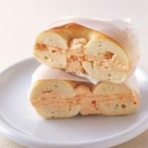 ベーグルwithスモークサーモンクリームチーズ