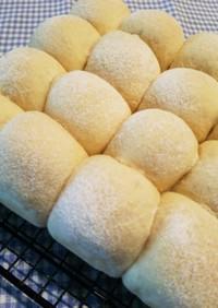 HB☆生地!ミルク豆腐ちぎりパン♪白パン