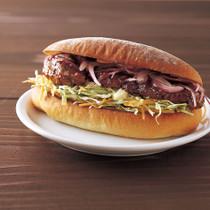 ハニーマスタードBBQチキン サンドイッチ