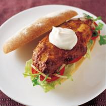 チリチキン サンドイッチ